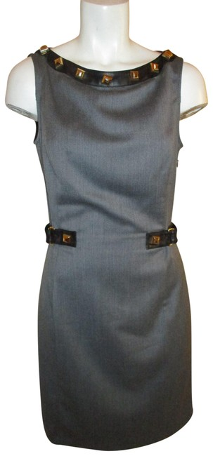 Preload https://img-static.tradesy.com/item/23558201/love-moschino-grey-and-black-studded-leather-trim-short-workoffice-dress-size-6-s-0-1-650-650.jpg