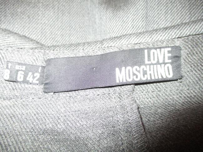 Love Moschino Studded Leather Sleeveless Night Out Dress Image 10