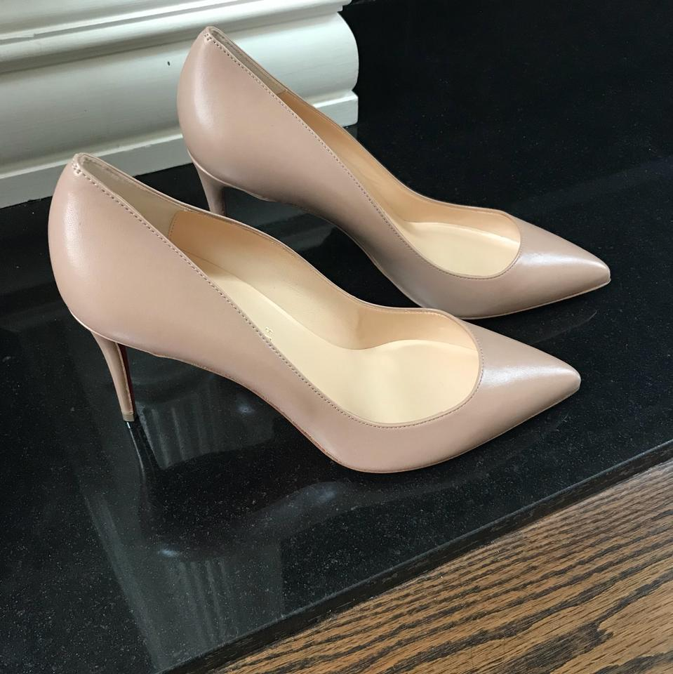 1dec5fba621e Christian Louboutin Nude Pigalle Follies Nappa 85mm Stiletto Pumps Size EU  40 (Approx. US 10) Regular (M