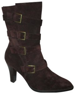 Colin Stuart Leather Suede Midcalf brown Boots