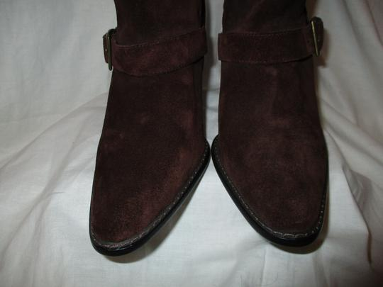 Colin Stuart Leather Suede Midcalf brown Boots Image 5