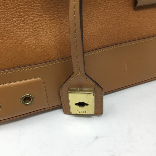 Dior Satchel in tan Image 3