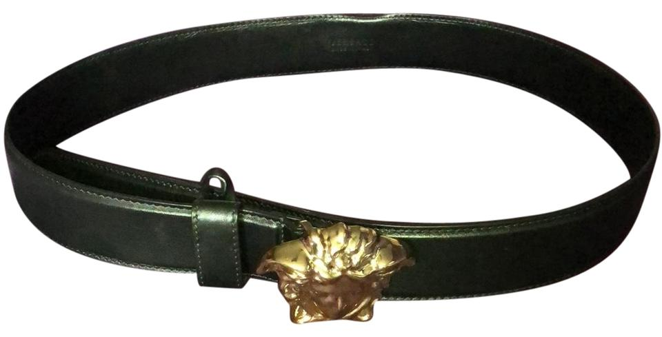Black Medusa Head Belt