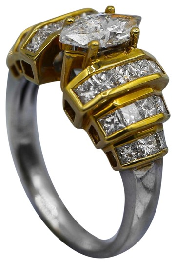 Preload https://img-static.tradesy.com/item/23558723/yellow-and-white-fashion-with-center-100-ct-marquise-ring-0-1-540-540.jpg