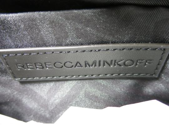 Rebecca Minkoff Nubuck Leather Satchel in Moon Blue Image 6