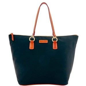 Dooney & Bourke Nylon O'ring Shopper Large Tote in Black