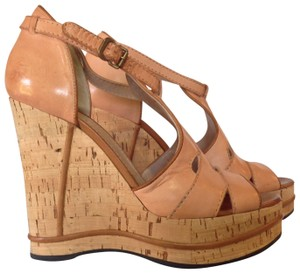 Chloé Natural Wedges