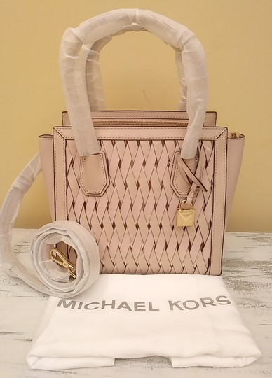 Michael Kors Purse Sale Mercer Small Tote in Pink Image 4