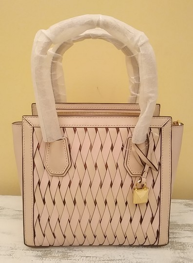 Michael Kors Purse Sale Mercer Small Tote in Pink Image 5