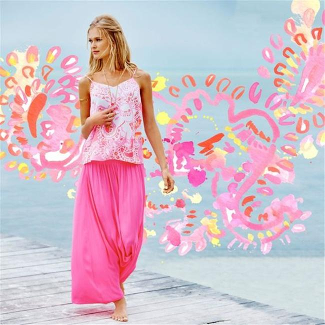 Lilly Pulitzer Top Pink Image 6