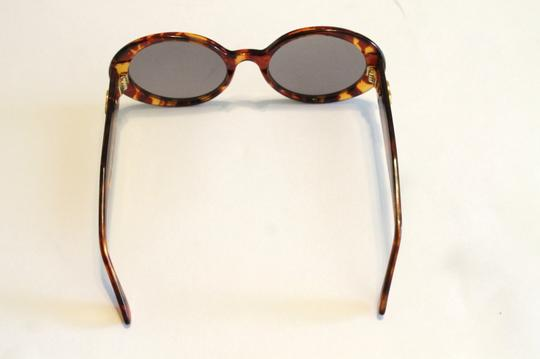 Chanel Chanel Brown Tortoise Polarized Sunglasses 5369 Gold Tone Quilted Arms Image 7