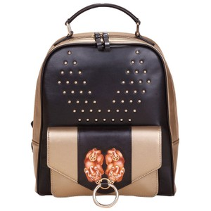 Bellorita Hand Tooled Hand Painted Leather Backpack