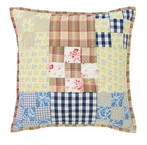 Anthropologie Patchwork Semiologie Hand Quilted Pillow Other
