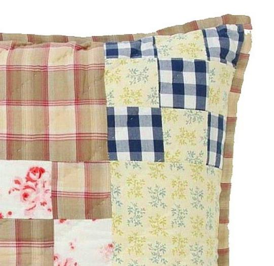Anthropologie Patchwork Semiologie Hand Quilted Pillow Other Image 1