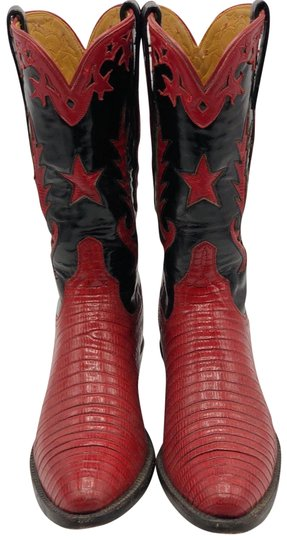 Preload https://img-static.tradesy.com/item/23559395/lucchese-black-and-red-cowboy-bootsbooties-size-us-5-regular-m-b-0-1-540-540.jpg