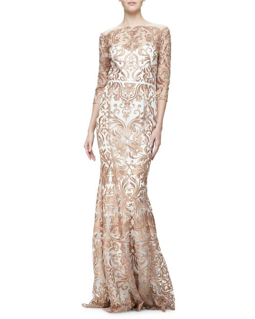 Marchesa Notte Embroidered Evening Mermaid Gown Dress Image 7
