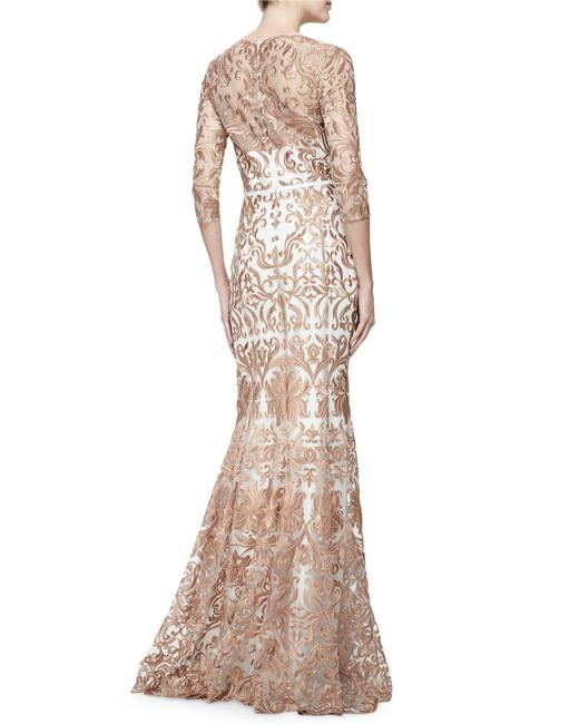 Marchesa Notte Embroidered Evening Mermaid Gown Dress Image 8