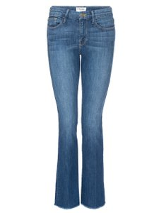 FRAME Capri/Cropped Denim-Medium Wash