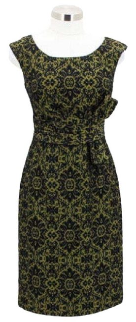 Preload https://img-static.tradesy.com/item/23559598/kay-unger-green-black-f1-designer-xs-extra-small-sundress-short-casual-dress-size-2-xs-0-1-650-650.jpg