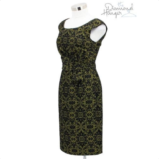 Kay Unger short dress Green Black on Tradesy Image 1
