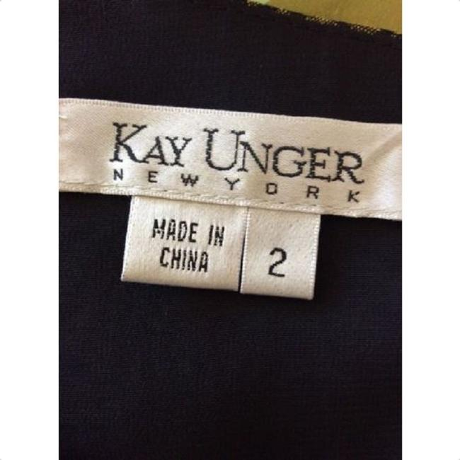 Kay Unger short dress Green Black on Tradesy Image 3