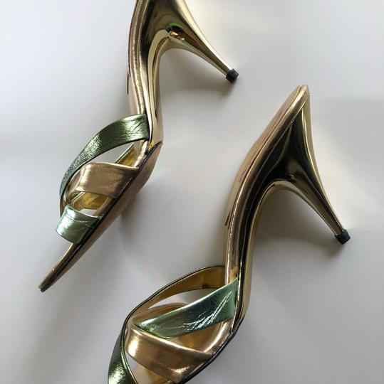 Michael Kors Collection gold Pumps Image 5