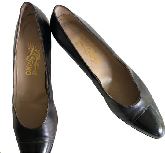 Preload https://img-static.tradesy.com/item/23559986/salvatore-ferragamo-black-with-patent-leather-toes-pumps-size-us-85-narrow-aa-n-0-1-540-540.jpg