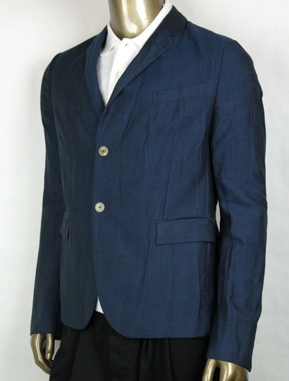 Gucci Blue Saphire Wool/Mohair Formal Jacket 2 Buttons It 54r/Us 44r 400669 4200 Groomsman Gift Image 2