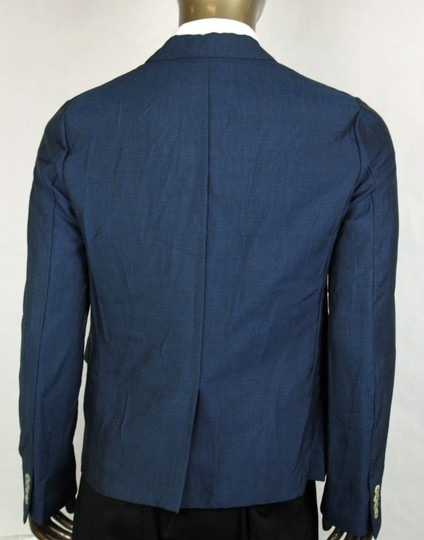 Gucci Blue Saphire Wool/Mohair Formal Jacket 2 Buttons It 56r/Us 46r 400669 4200 Groomsman Gift Image 3
