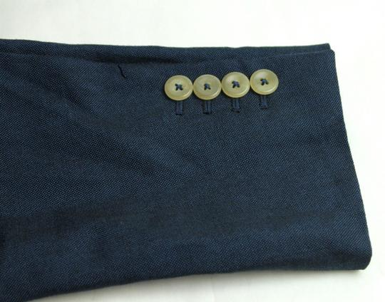 Gucci Blue Saphire Wool/Mohair Formal Jacket 2 Buttons It 56r/Us 46r 400669 4200 Groomsman Gift Image 8
