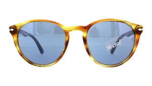 Persol Persol PO 3152S 9043/56 Striped Brown Yellow Gradient Blue Lens