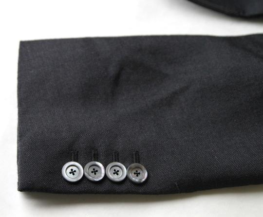 Gucci Charcoal Wool/Mohair Formal Evening Jacket 1 Button It 52r/Us 42r 406543 1165 Groomsman Gift Image 10