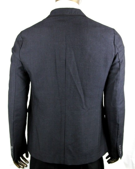 Gucci Charcoal Wool/Mohair Formal Evening Jacket 1 Button It 52r/Us 42r 406543 1165 Groomsman Gift Image 4