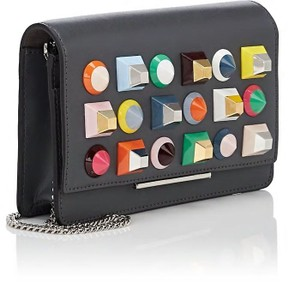 Fendi Woc Studded Wallet Rainbow Cross Body Bag