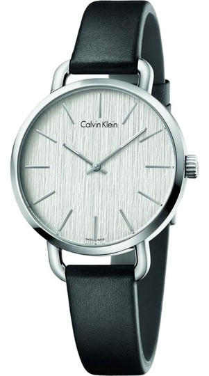 Preload https://img-static.tradesy.com/item/23560243/calvin-klein-k7b231c6-women-s-black-leather-band-with-silver-analog-dial-watch-0-1-540-540.jpg