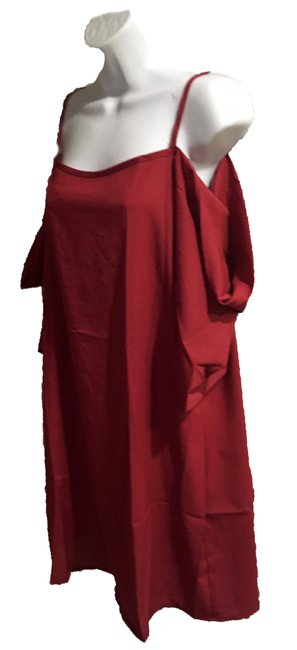 Preload https://img-static.tradesy.com/item/23560245/red-pullover-or-dress-blouse-size-16-xl-plus-0x-0-0-650-650.jpg