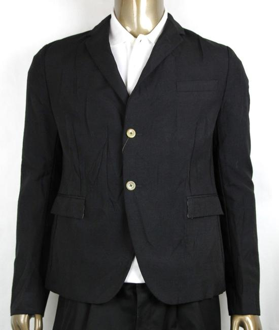 Item - Black Wool/Mohair Formal Jacket 2 Buttons 1 Vent It 54r/Us 44r 400669 Groomsman Gift