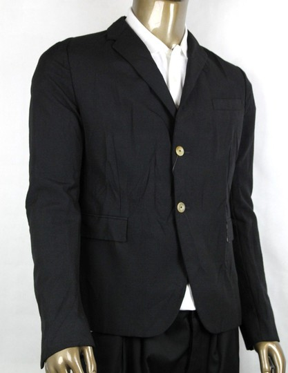 Gucci Black Wool/Mohair Formal Jacket 2 Buttons 1 Vent It 54r/Us 44r 400669 Groomsman Gift Image 1