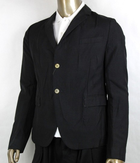 Gucci Black Wool/Mohair Formal Jacket 2 Buttons 1 Vent It 54r/Us 44r 400669 Groomsman Gift Image 2