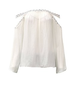 Ramy Brook Top Ivory