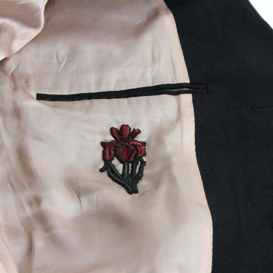 Gucci Black Wool/Mohair Formal Jacket 2 Buttons 1 Vent It 60r/Us 50r 400669 Groomsman Gift Image 5