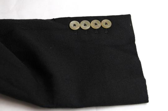 Gucci Black Wool/Mohair Formal Jacket 2 Buttons 1 Vent It 60r/Us 50r 400669 Groomsman Gift Image 7