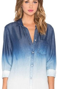 Bella Dahl Button Down Shirt Day Break Ombré