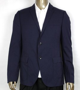 Gucci Blue Poly/Wool/Elastane Formal Jacket 2 Buttons It 46r/Us 36r 398953 4379 Groomsman Gift