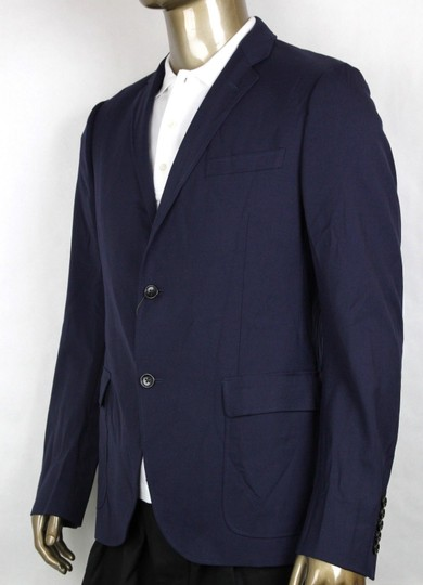 Gucci Blue Poly/Wool/Elastane Formal Jacket 2 Buttons It 46r/Us 36r 398953 4379 Groomsman Gift Image 2
