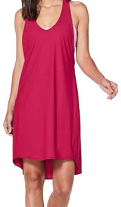 Lululemon NWT lululemon rejuvenate dress ruby red size 2