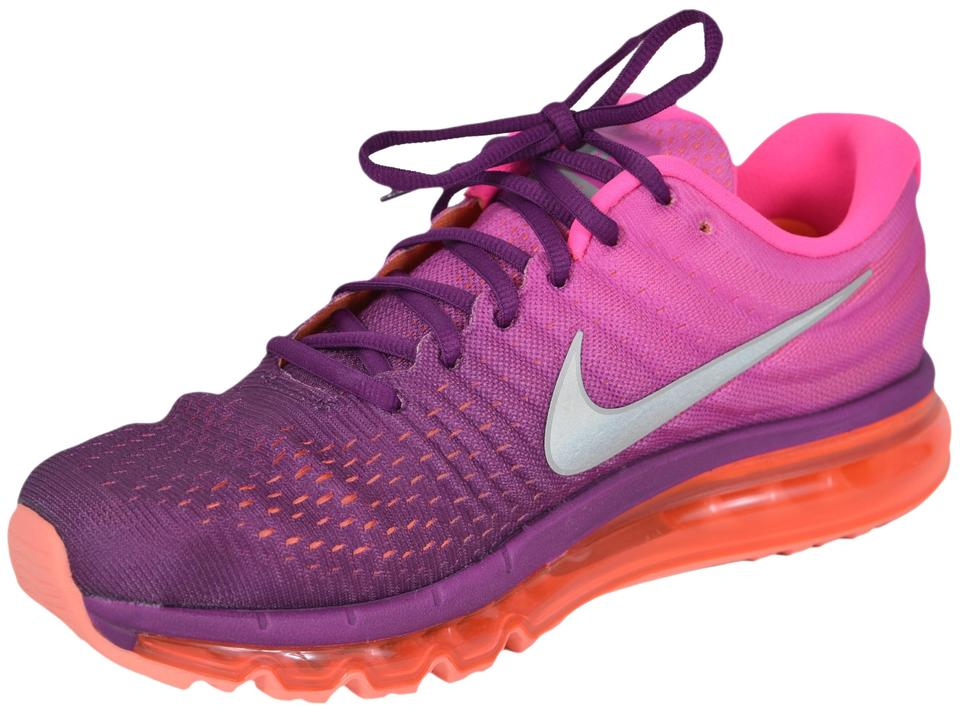 Nike Pink Ombre New Air Max 2017 Running Tennis Sneakers Size US 6 ... fb2fb85e1489