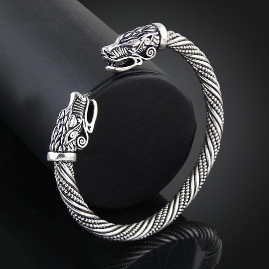 Other Wolf Head Indian Jewelry Accessories Bracelet Image 3