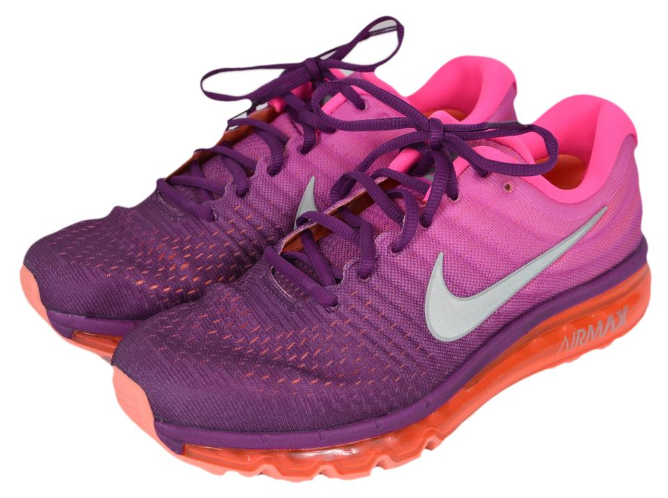 buy online 43065 85508 Nike Pink Ombre New Air Max 2017 Running Tennis Sneakers