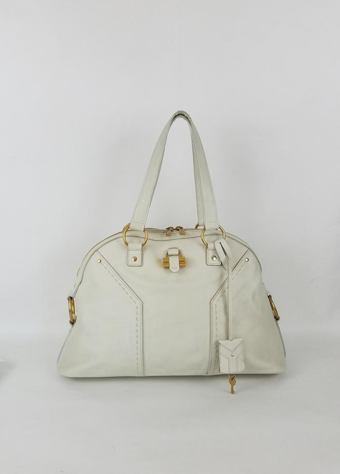 1fd06944df5 Saint Laurent Ships In 24 Hours Ysl Muse Ysl Muse Ysl Domed Satchel in Ivory  Image ...